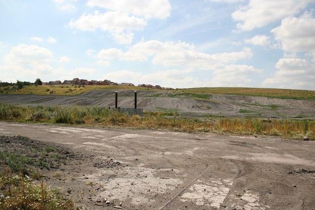 Silverwood Colliery spoil heap