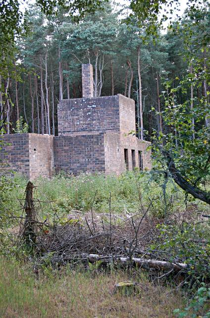Polish Army building, Tentsmuir