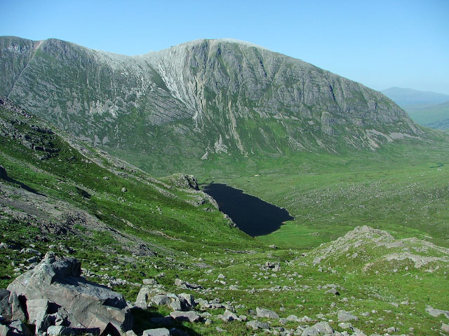 On the lower slopes of Sgorr Ruadh