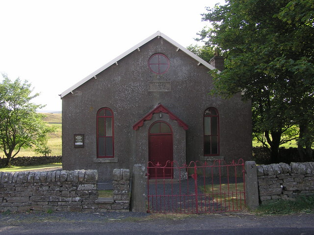 Wesleyan Chapel : Forest-in-Teesdale, dated 1867