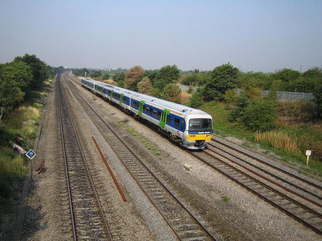 Iver: Railway lines