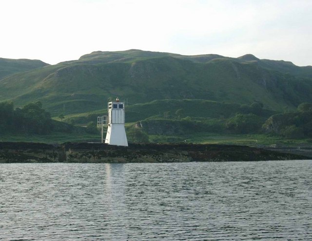 Lighthouse on Sgeirean Dubha