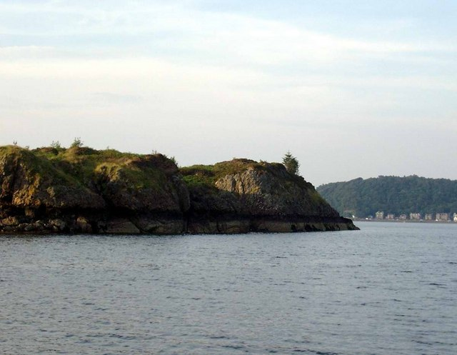 Islet at the north end of the Sound of Kerrera
