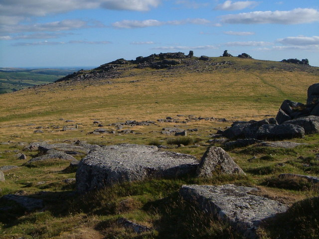 Great Staple Tor from near Roos Tor
