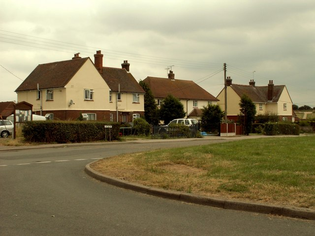 Houses at Purleigh, Essex
