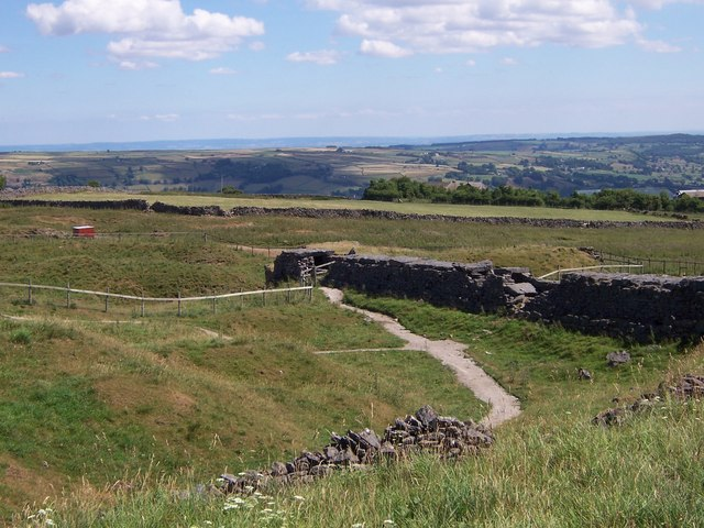 View fromToft Gate Lime Kilns