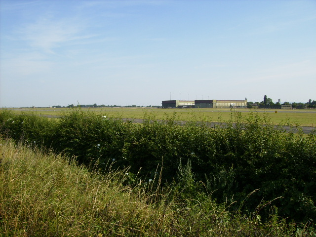Dishforth Airfield looking north