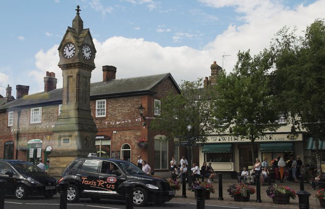 Clock Tower - Thirsk Market place