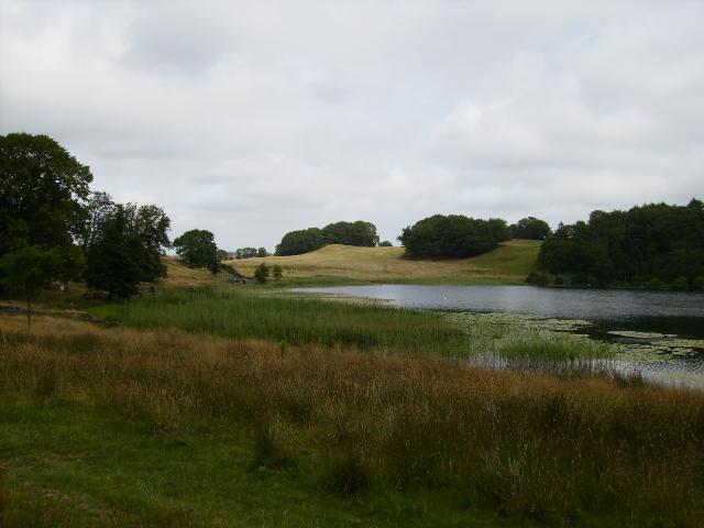 The northern end of Bigland Tarn