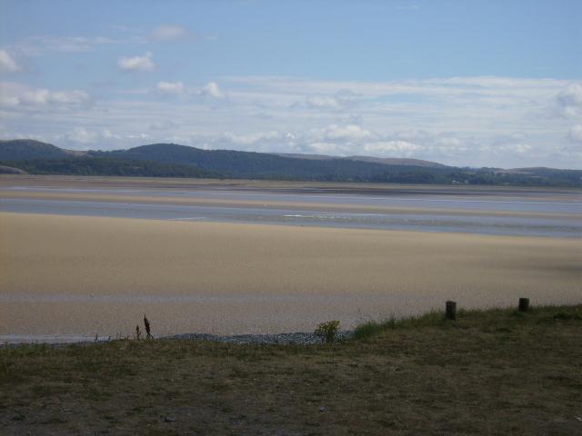 Tide coming in at Morecambe Bay