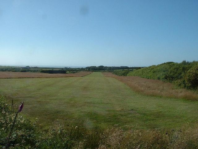 Farmland near Trefgraig Plas