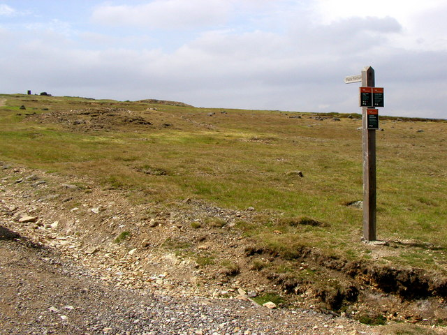 Public Footpath to High Moss