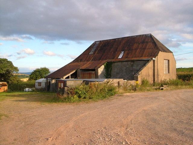 Barn at Halwell Airfield