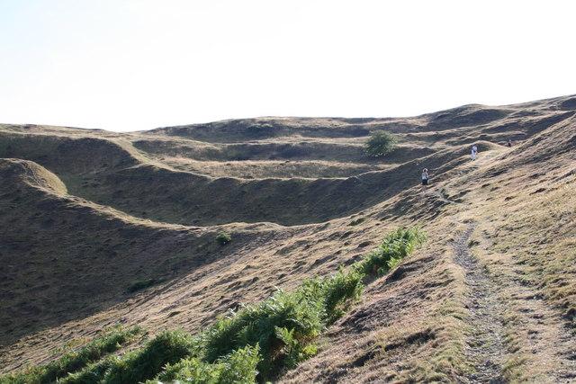 Complex of Earthworks, British Camp, Malvern Hills