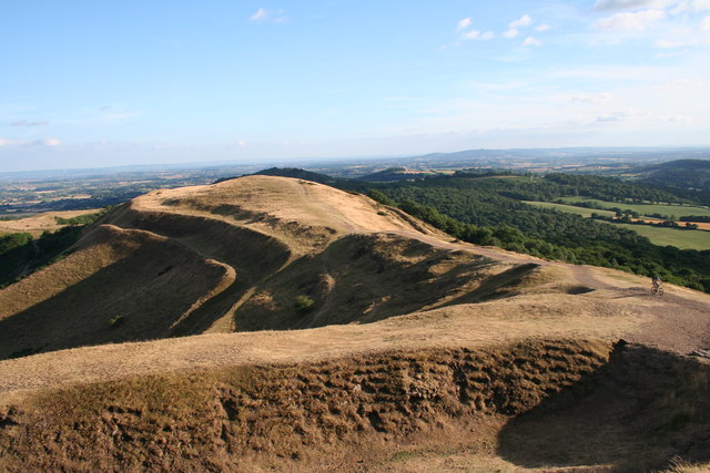 Millennium Hill from Herefordshire Beacon