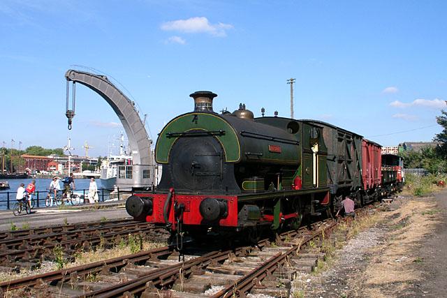 Henbury on Bristol Docks