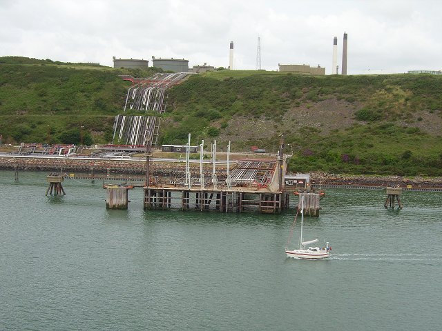 Loading piers,  Milford Haven
