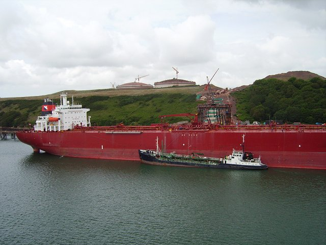 Tanker, Milford Haven