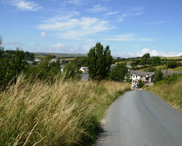 Downhill to Great Urswick
