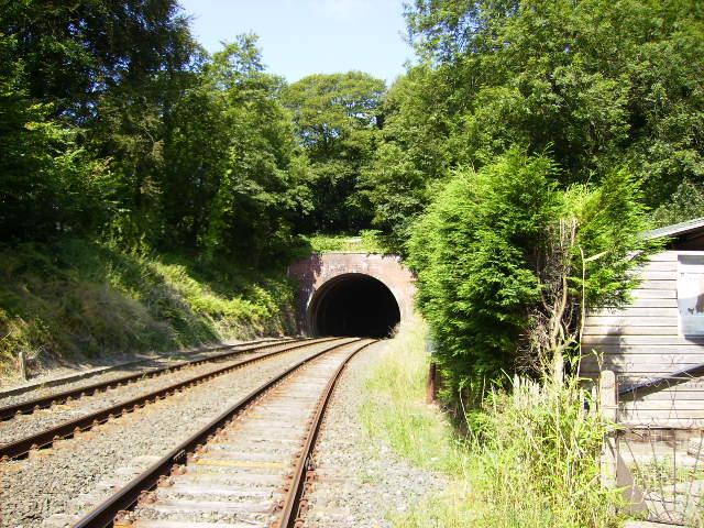 Railway tunnel near Furness Abbey