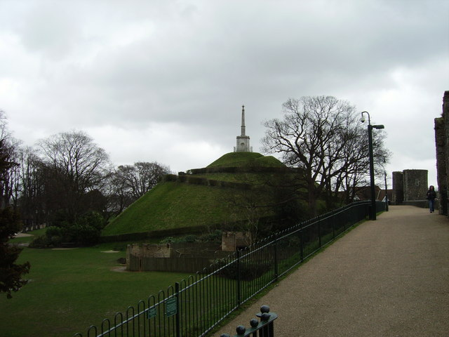Dane John Mound, Canterbury