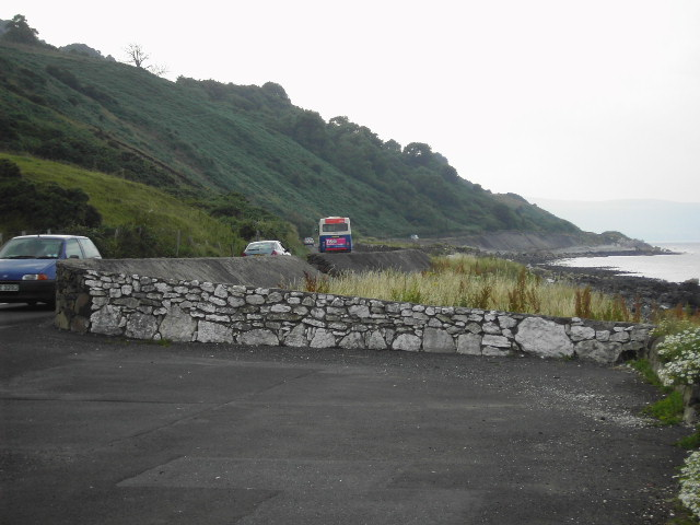Coastal Route from Ballygalley to Glenarm