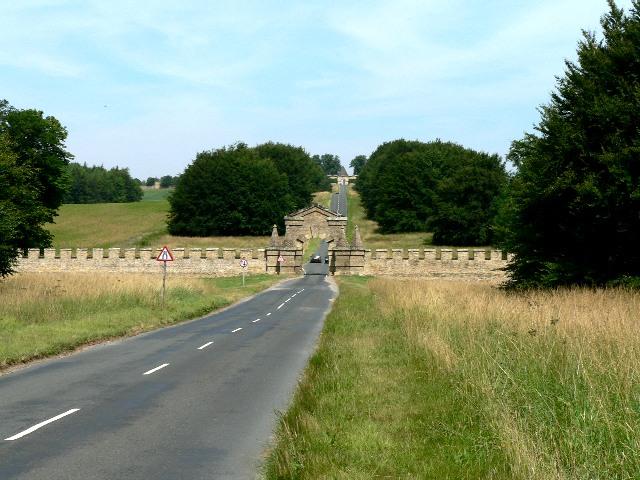 The Carrmire Gate, Castle Howard