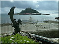 SW5129 : Marazion, St. Michael's Mount, The Causeway at High Tide by Neil Kennedy