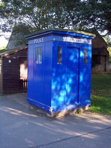 Police Box, Bradgate Country Park