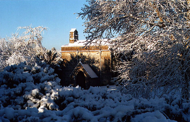 Baunton Church (winter!)