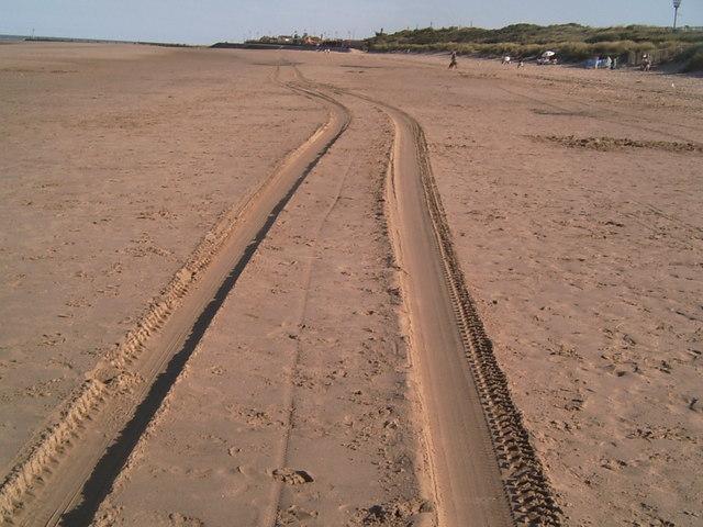 Tracks Of The Sand Train, Mablethorpe