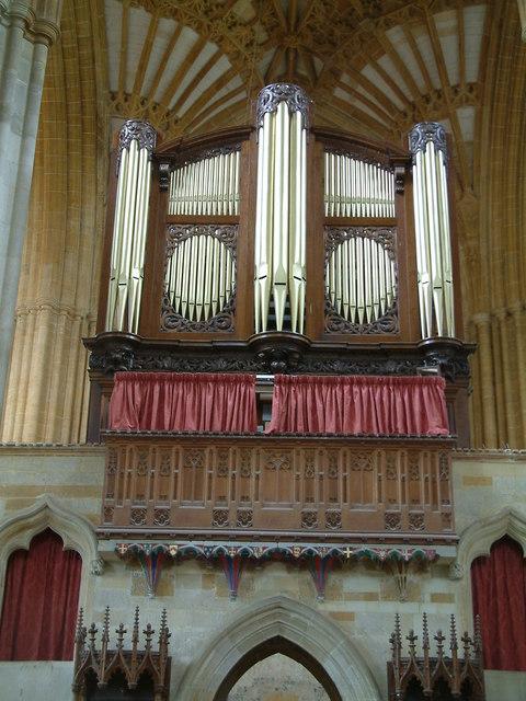 Milton Abbas The Organ At Milton Abbey Neil Kennedy