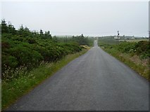 S9819 : Road on Forth Mountain by Richard Webb