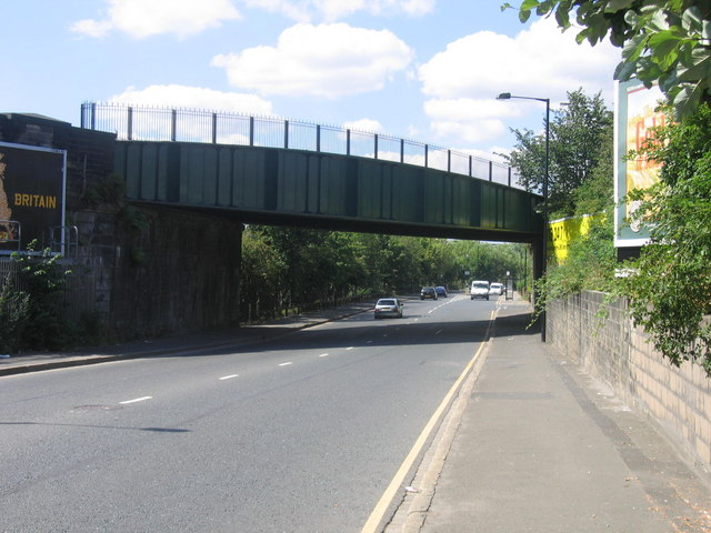 Old Railway Bridge Over Walker Road
