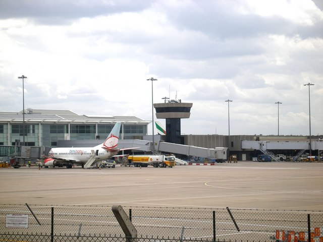 Birmingham Airport - Terminal 1 and Control Tower