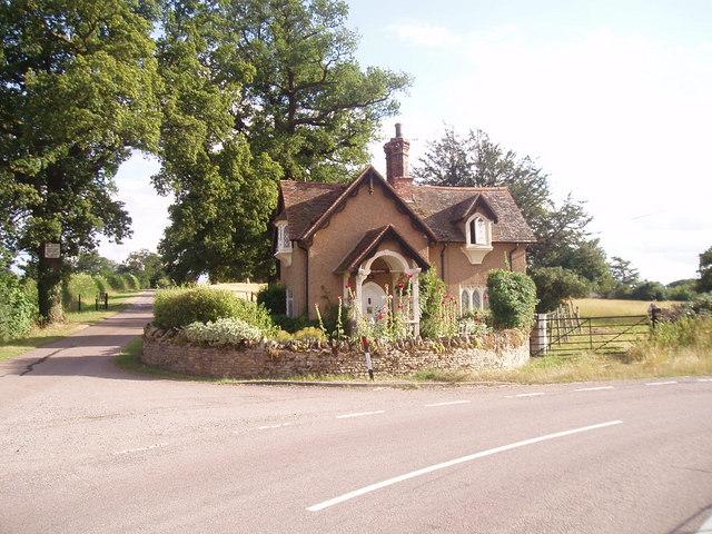Lower Lodge of Turvey estate