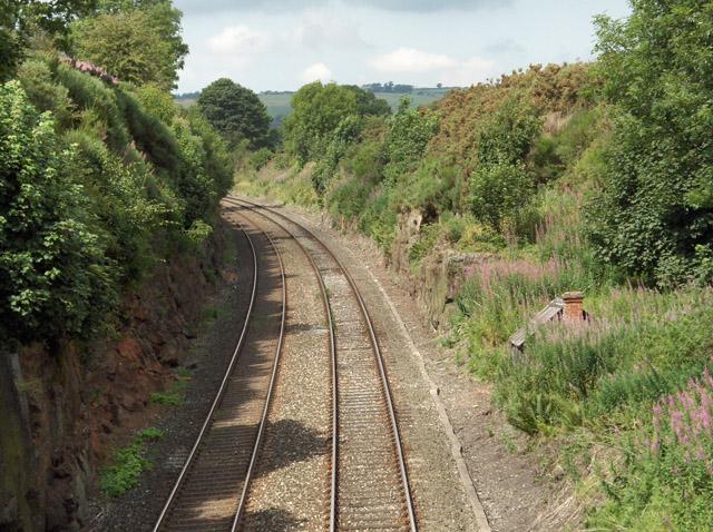 Railway near Lazonby