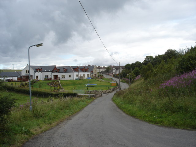 Binniehill Farm and hamlet, Slamannan near Falkirk