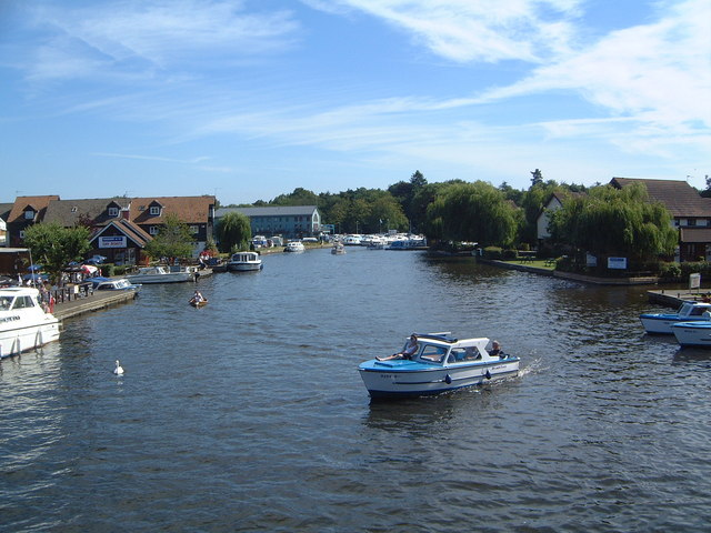 River  Bure at Wroxham