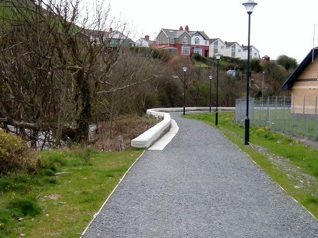 Riverside Walk, Aberystwyth