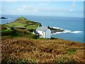 SW3532 : Cape Cornwall by Jeff Wells