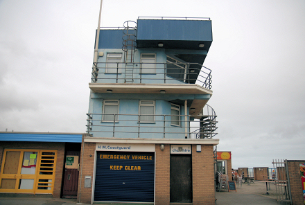 Coast Guard lookout station at Seathorne