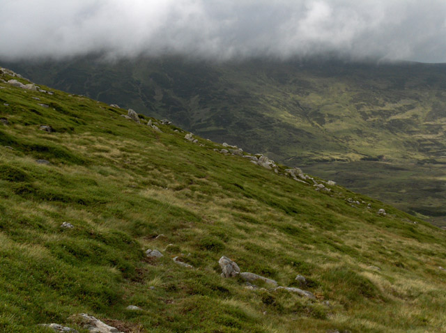 Northern flank, Meall Garbh