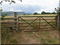 SO3421 : Stile and gate near Cefn Campstone by Philip Halling
