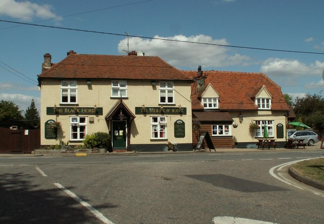 'The Black Horse' inn, White Roding, Essex