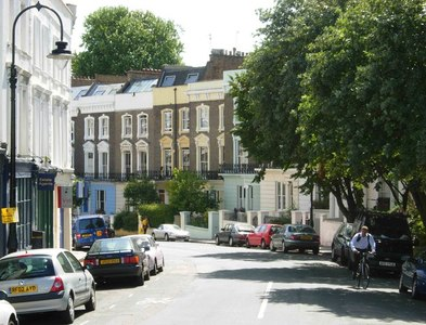 TQ2884 : Gloucester Avenue, Primrose Hill by Stephen McKay