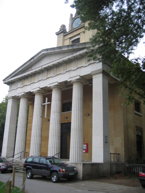 St Mark's church, Kennington