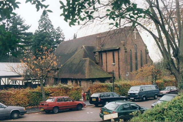 St Mary's church, Purley Oaks Road