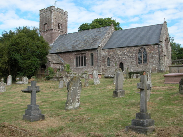 Church at Llanvetherine / Llanwytherin