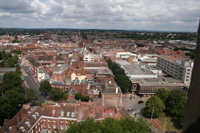 Worcester City Centreworcester town